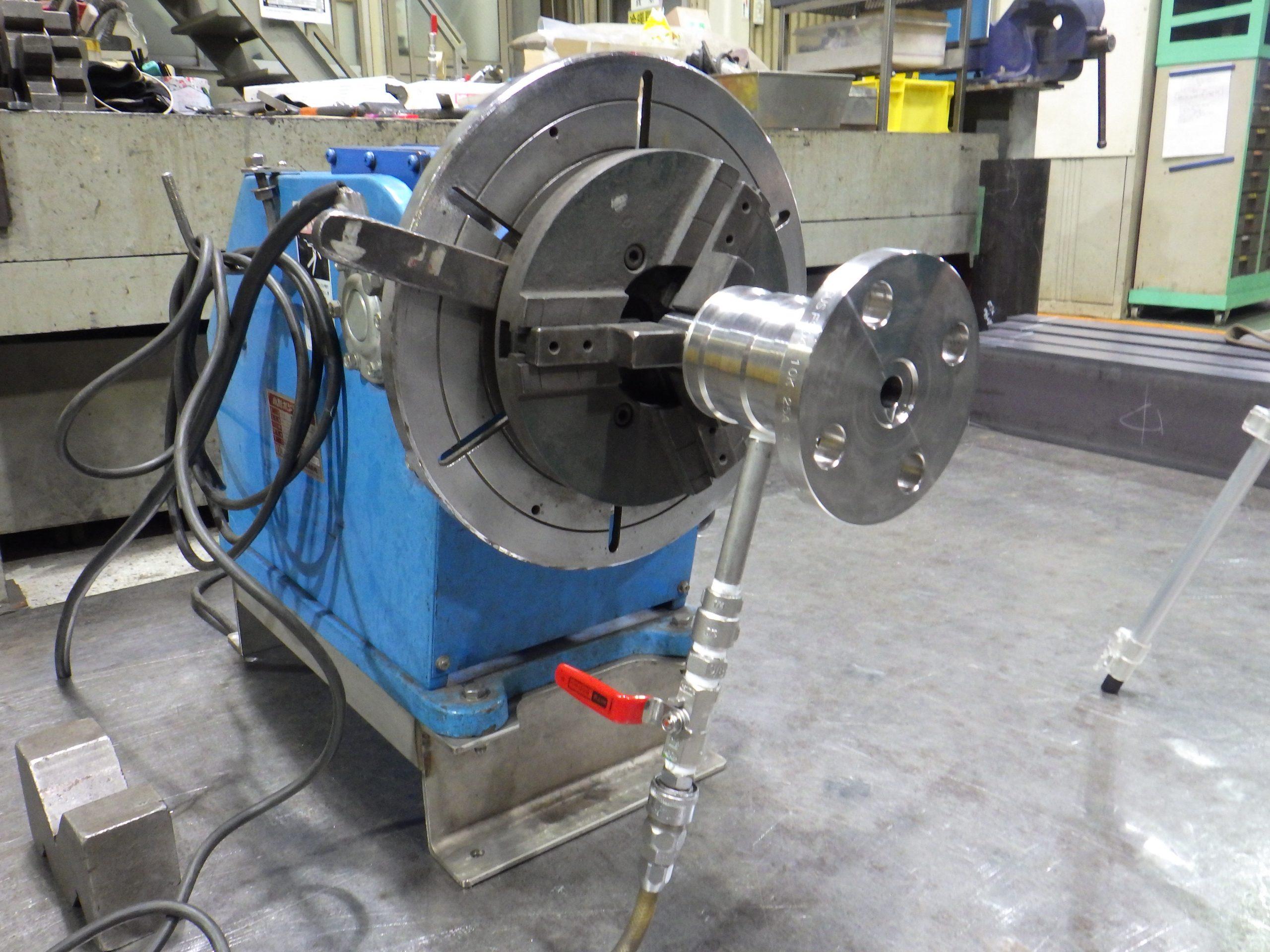 裏波溶接作業用バックシールドガス供給装置